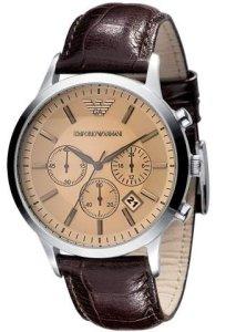 Emporio Armani klassische Herrenuhr und Chronograph AR2433