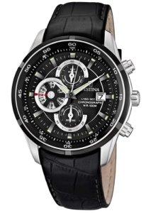 Sportlicher Herrenchronograph Festina F6821/3 in Schwarz