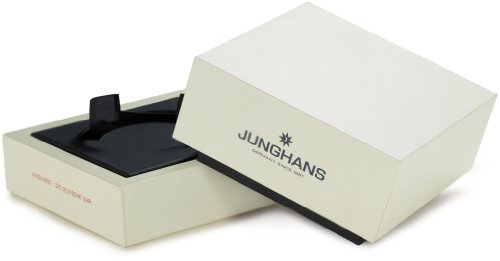Weiße Uhrenbox für die Junghans Uhr max bill