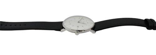 Seitenansicht der eleganten Armbanduhr max bill Automatic 027/4700