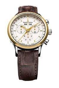 Maurice Lacroix Les Classiques LC1008PVY11130 Herren-Armbanduhr mit Chronograph, Wochentag-, Datum und Monatsanzeige