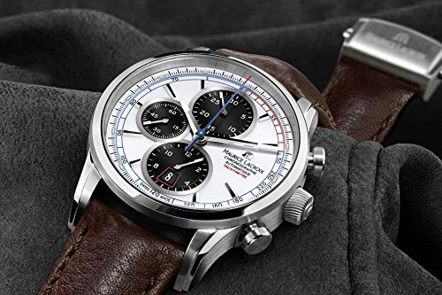 maurice lacroix pontos pt6288 ss001 130 automatik chronograph. Black Bedroom Furniture Sets. Home Design Ideas
