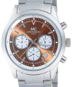 Sportlicher Herren-Chronograph MC Timetrend 25704 mit schimmerndem Zifferblatt und mattiertem Gehäuse