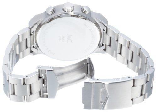 Edelstahlgehäue und -armband des MC Timetrend Chronographen 26309