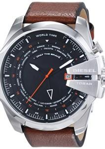 Diesel Herren-Armbanduhr DZ4321 mit Weltzeit