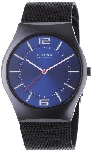Elegante Armbanduhr Bering 32039-447 für Herren mit blauem Zifferblatt