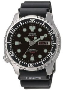 Citizen Armbanduhr Promaster NY0040-09EEM mit schwarzem PU-Armband