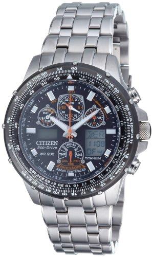 Großer Herren-Chronograph Citizen Promaster Super Skyhawk mit schwarzem Zifferblatt