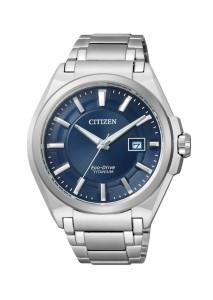 Citizen Herren-Titanuhr BM6930-57 mit blauem Zifferblatt