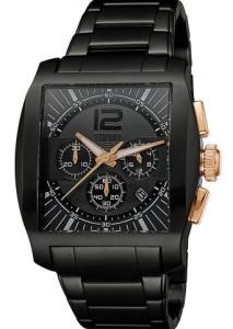 Esprit Herren-Armbanduhr Impulse Rosegold Black ES103641003