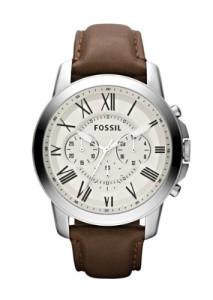 Eleganter Chronograph Fossil FS4735 mit klassischem Design