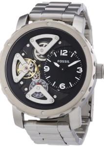 Fossil Herrenuhr Nate Twist ME1132 mit offenem Uhrwerk und coolem Design