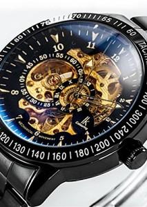 Alienwork IK Automatikuhr Armbanduhr 98226-12