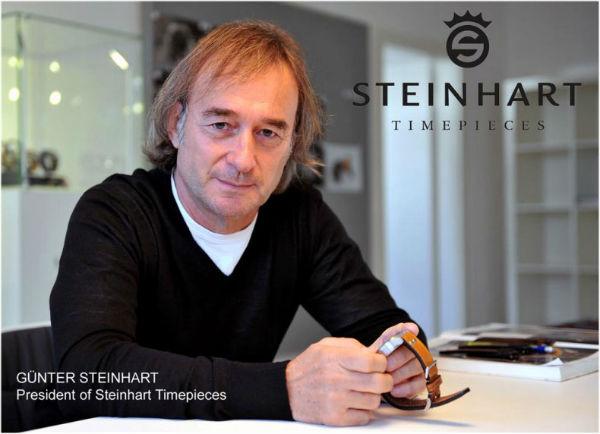 Günther Steinhart - Gründer und Chef von Steinhart Uhren