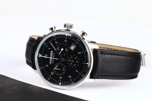 Junkers Bauhaus Herrenuhr 6086-2 mit Chronograph