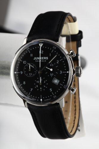 Hochwertige Made in Germany Bauhaus Uhr mit Chronograph von Junkers