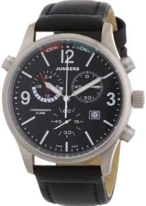 Cooler Männer-Chronograph Junkers Flugweltrekorde G38 mit Alarm-Funktion