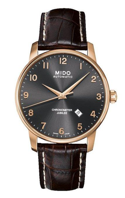 Mido Herrenuhr Baroncelli II M8690.3.13.8 Chronometer Jubilee