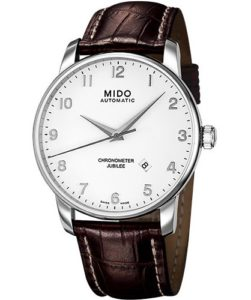 MIDO Herrenuhren-Automatikuhr Baroncelli Herrenuhr Ø 42mm M86904118