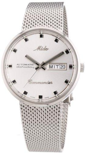 Herrenarmbanduhr Mido Commander mit Automatik-Uhrwerk
