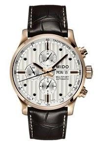 Eleganter Mido Multifort Chronograph für Herren
