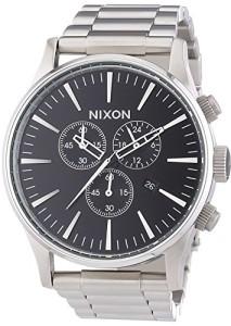 Nixon Herren-Armbanduhr A386000-00 mit Edelstahlarmband