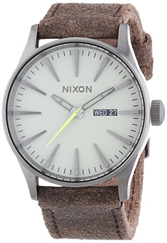 Nixon Herrenuhr The Sentry Leather A1051388-00