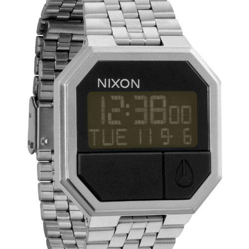 Nixon Armbanduhr Re-Run A158000-00 mit Digitalanzeige