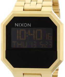 Nixon Unisex-Armbanduhr Re-Run A158502-00 in Gold
