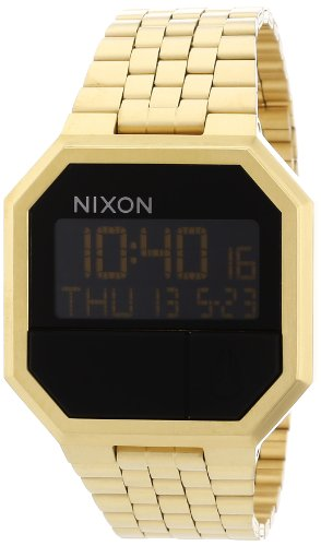 Nixon Unisex-Armbanduhr Re-Run A158502-00 in Gold