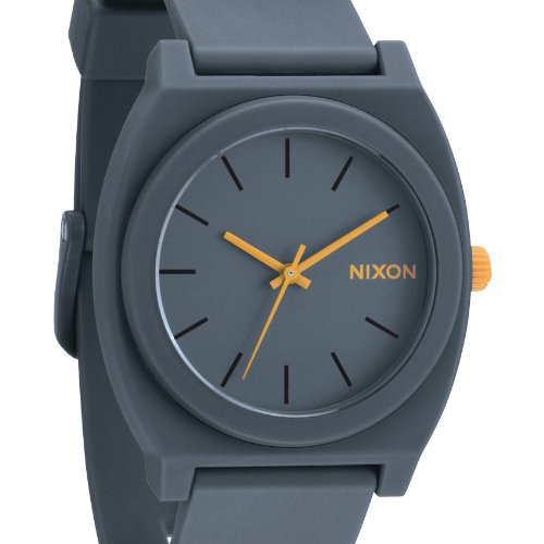 Nixon Armbanduhr Time Teller P A1191244-00 in Grau und Orange