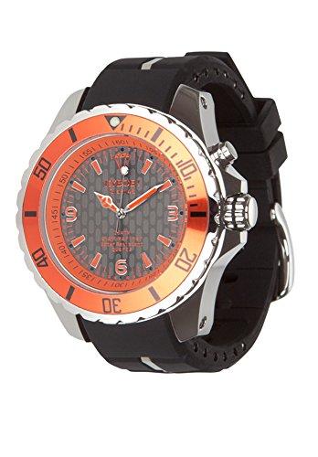 KYBOE Uhr KY-011 GIANT 48 in Schwarz und Orange