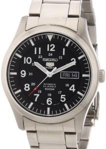 Seiko Herren-Armbanduhr SNZG13K1 mit Automatikuhrwerk und elegantem Design