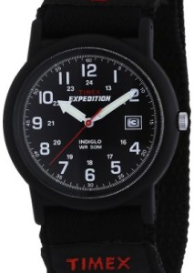 Schwarze Herrenuhr Timex Expedition T40011