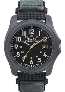 Schwarze Herrenuhr Timex Expedition T425714E