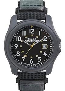 Schwarze Herrenuhr Timex Expedition T425714E
