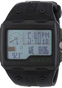 Schwarze Digitaluhr Timex Expedition T49664EW