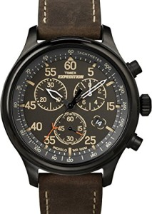 Schwarzer Timex Expedition Chronograph T49905D7