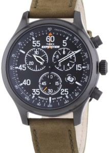 Schwarzer Chronograph Timex Expedition T49938D7