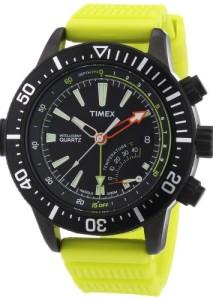 Timex IQ Depth Gauge T2N958 mit schwarzem Gehäuse