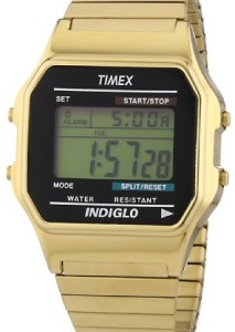 Timex Retro-Uhr T78677 in Gold