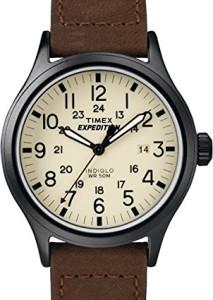 Timex Expedition Scout T49963 mit beigem Zifferblatt