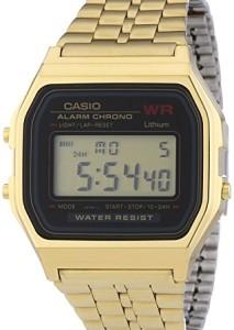 Casio Uhr Gold A159WGEA-1EF mit Retro-Design