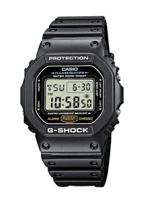 Schwarze Casio G-Shock Digitaluhr