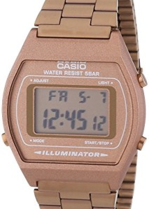 Retrouhr Casio Collection B640WC-5AEF in Roségold
