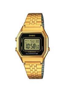 Goldene Retrouhr Casio Collection LA680WEGA-1ER
