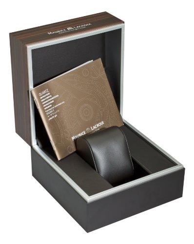 Braune Uhrenbox von Maurice Lacroix