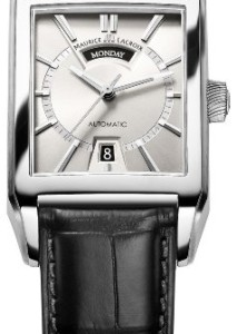 Herrenuhr Maurice Lacroix Pontos Rectangulaire Day-Date PT6227-SS001-13E