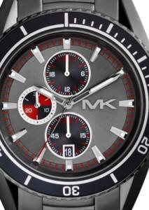 Michael Kors Herren-Chronograph MK8340 mit stahlgrauem Blatt und Gehäuse
