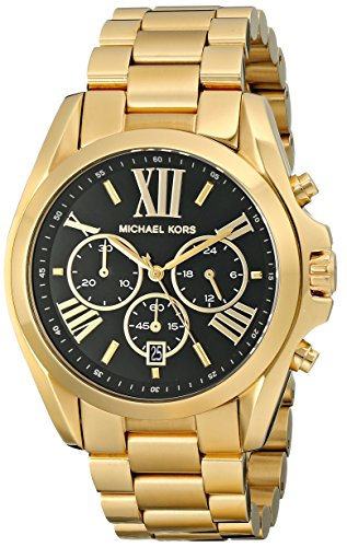 michael kors mk5739 chronograph schwarz gold. Black Bedroom Furniture Sets. Home Design Ideas